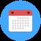 Calendar Services Services icon calendar